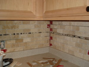 pro when selling - kitchen backsplash