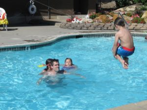 maintaining your pool - fun