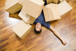 prepare to move - pack