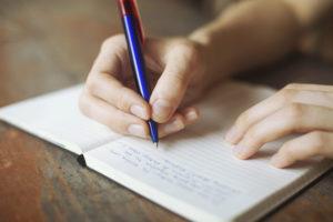 new goals - write